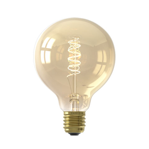 Flexible Filament Globe G95 Gold