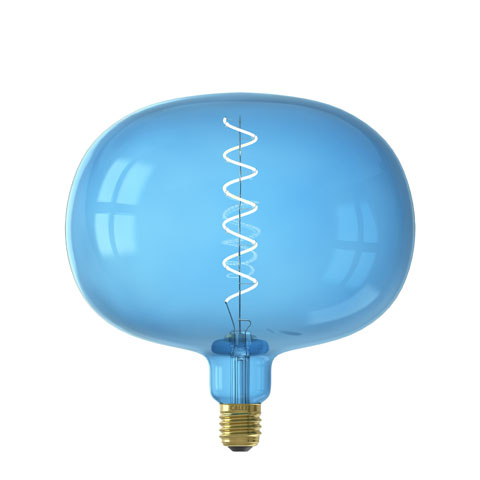 Boden Sapphire Blue led lamp