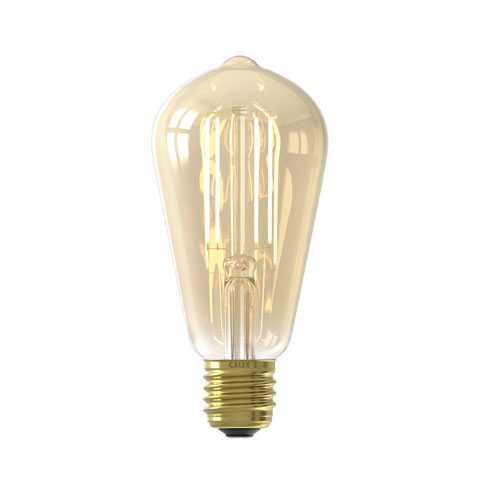 Smart Rustiek Gold led lamp
