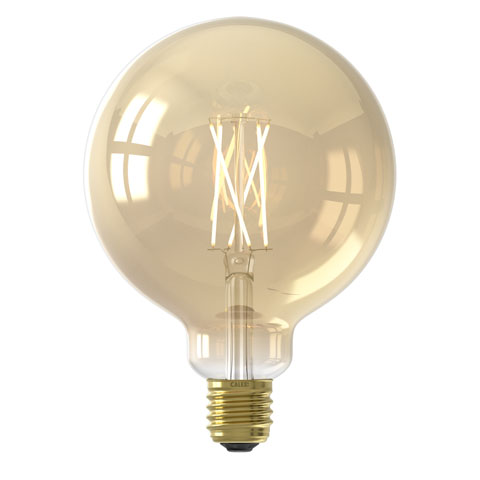 Smart Globe G125 Gold led lamp